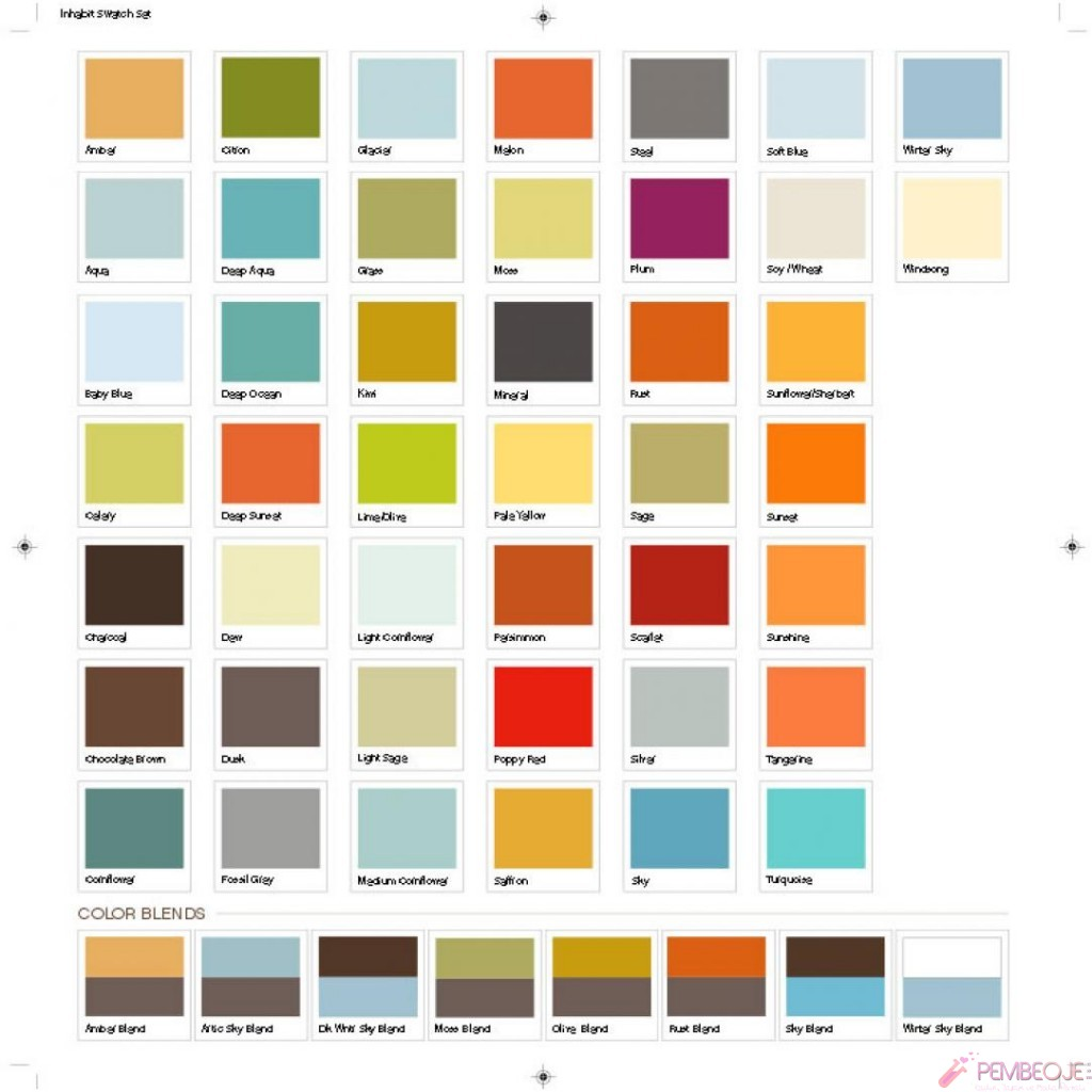 Ici Paints Color Shades
