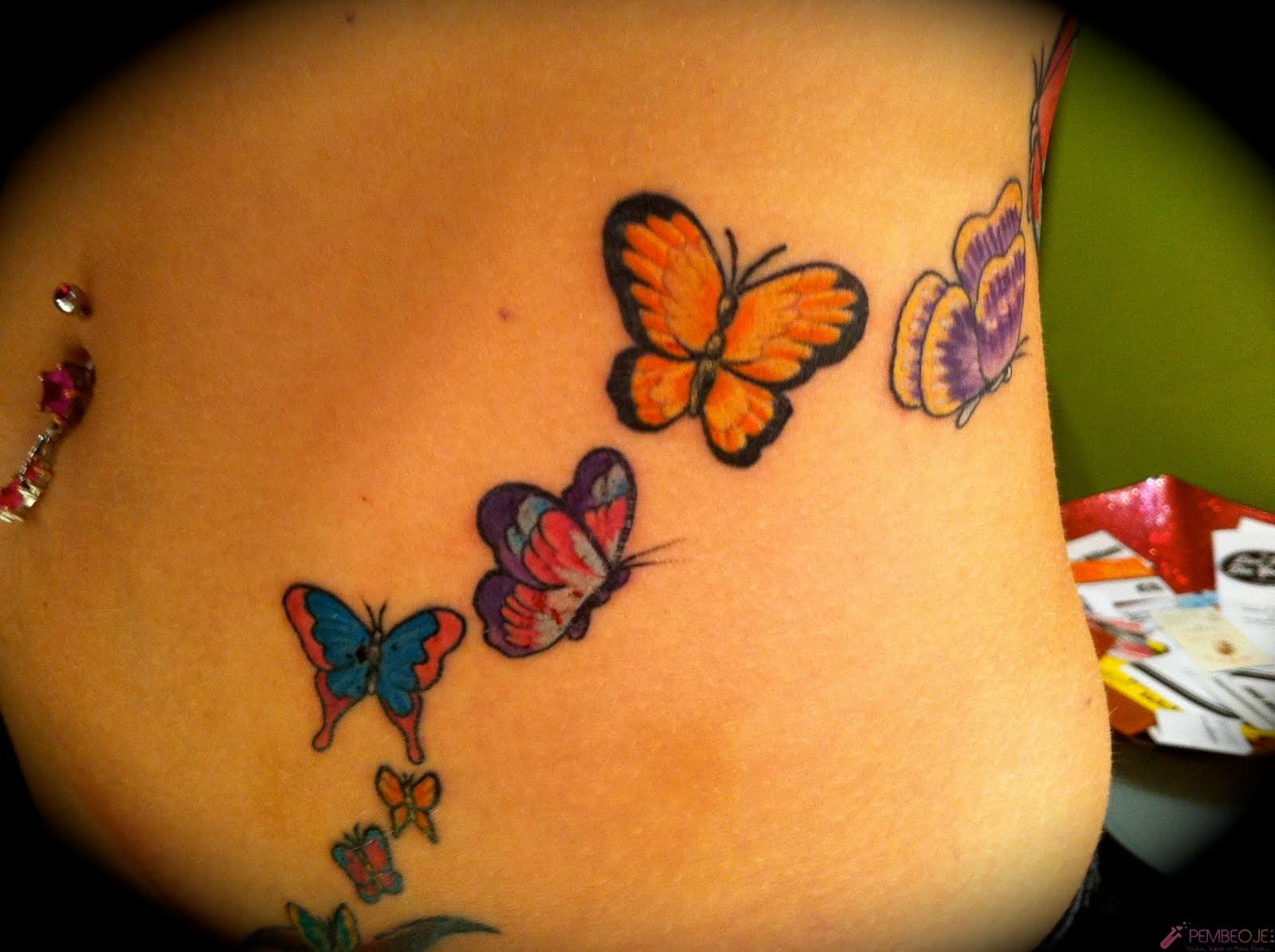 Татуировки на женском животе фото