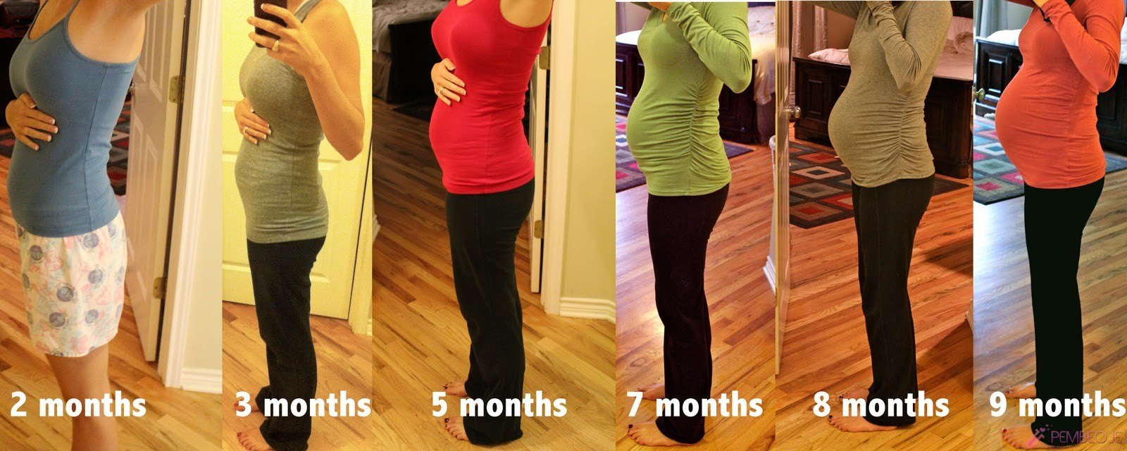 Growing belly