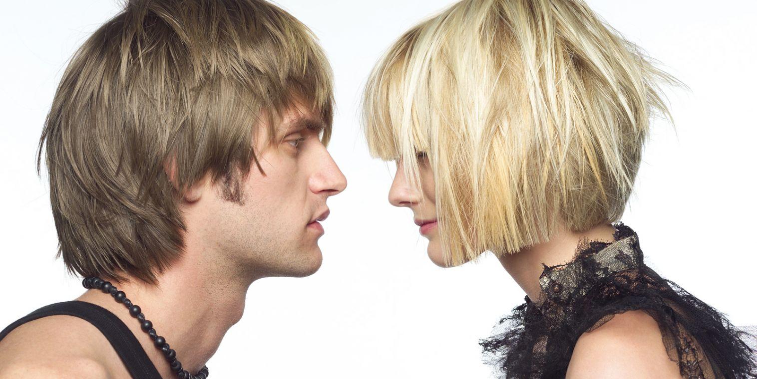 Фото причесок мужских и женских