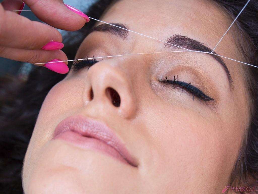Как правильно выщипывать брови в домашних условиях: подготовка 74